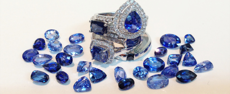 GATHER YOUR UNIQUE SAPPHIRES